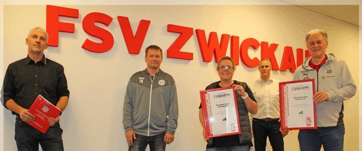 Kooperation mit dem FSV Zwickau e.V.